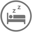 nightly check-in icon