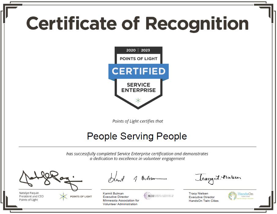 Service Enterprise Certificate