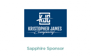 Kristopher James Company - Sapphire Sponsor - logo with link to website