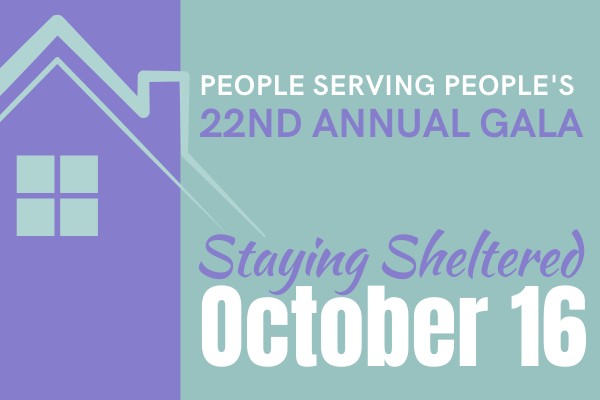 Art: Staying Sheltered, People Serving People's 22nd Annual Gala, October 16