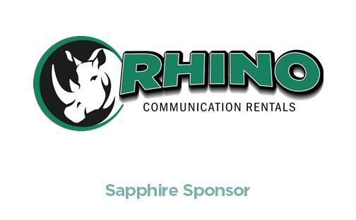Rhino Communications - Gala Sapphire Sponsor - logo with link to website
