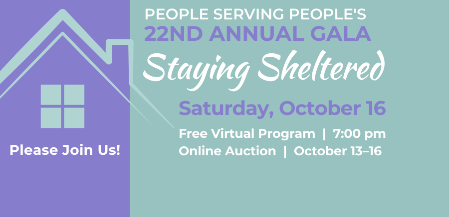 Event Art: 22nd Annual Gala - Staying Sheltered, October 16th